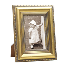 Golden Wooden Frame Photo for Home Deco