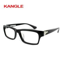 Nouvelle Italie designer de mode Hommes acétate verres optiques lunettes lunettes