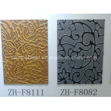 New Building Material / Interior Partition Exterior Wall Sandwich 3D Embossed Wall Panel for Various Construction (3D-01)