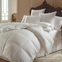 Edredão de penas de pato de luxo para edredom de cama (DPF1051)