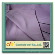 100% polyester éponge noir tissu rideau / écran solaire