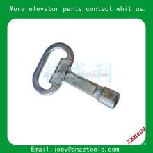 Triangle Lock Key Pièces d'ascenseur Triangle Lock Key Elevator Lock