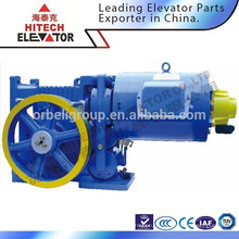 Machine de traction à engrenage par ascenseur / moteur de levage / machine de traction vvvf