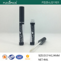 Luxury empty black Cosmetics Container round Tube