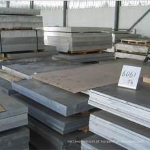 Placa de liga de alumínio 6061