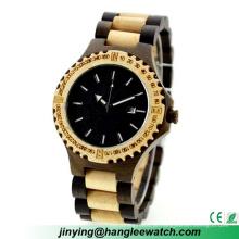 Fabricante OEM especializada na produção de relógios de madeira