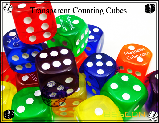 Transparent Counting Cubes-4