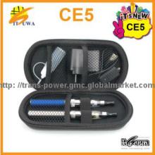 Popular e-cig travel bag set ce5 tank atomizer ego case