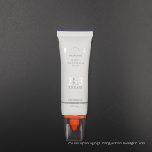 45g matte coating oval skin care bb cream tube packaging