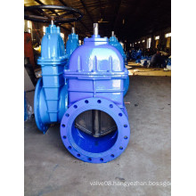 Bigger Sizes Rubber Wedge Gate Valve F4 Pn 10/16