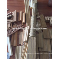 recon wood mouldings for decoration,construction,ceiling line,flat wood moulding