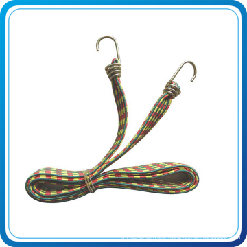 Custom Elastic Bungee Cord with Dould Metal Hook for Outdoor Activity