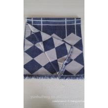 Nouveau châle de laine mercerisé de conception de Chine