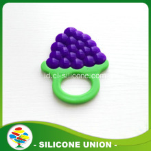 Bentuk Buah Silicone Pendant Child Baby Teether