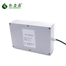 Factory OEM Custom rechargeable deep cycle 100ah 48v solar system battery box for solar street lights