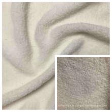 Tissu polaire velours 100% polyester à grain fin