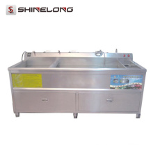 Equipo de cocina Ultrasonic Commercial Vegetable Washer And Dryer