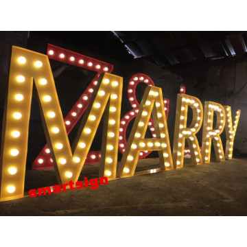 Placas de LED para eventos Outdoor Party Marquee LED