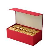 Grüner Tee Geschenkbox mit Magnetverschluss