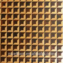 Revestimento em camadas de parquet de madeira maciça N49 ROSEWOOD MAPLE PARQUET