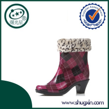 jelly high heel rain boots shoes