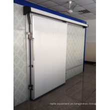 Manual da porta deslizante da espuma do plutônio para o quarto frio