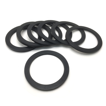 Good quality Flat Rubber O-Ring Gasket Washer rubber NBR Silicone EPDM PTFE FKM Flat O-ring