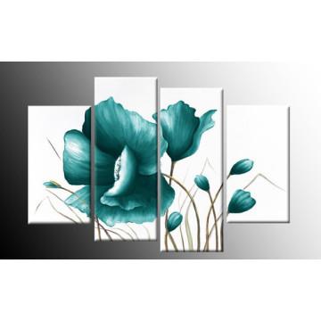 Décor de maison Art moderne de mur Art floral décoration florale peinture à l'huile