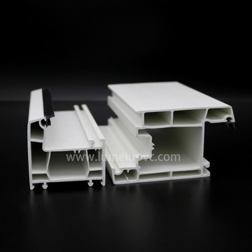 Perfiles UPVC Pvc Profile Plastic para Windows