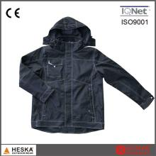 New Work Suit Tape Seam Security Waterproof Mens Bomber Jacket