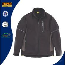 Lässige winddichte wasserdichte Softshell Jacke für Männer