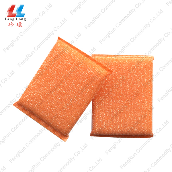 mesh colorful cleaning pad