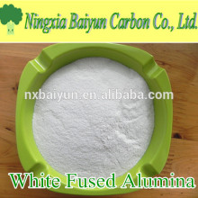 WFA 99.5% Al2O3 poudre d'alumine fondue blanche abrasive pour le polissage de l'acier