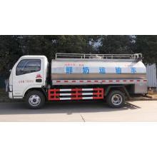 Camión tanque de almacenamiento de leche Camión de transporte de leche