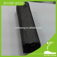 Grade retangular do carvão vegetal da madeira do BBQ para a venda