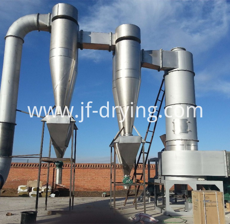Spin flash dryer machine (45)
