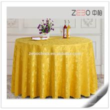 Новый жаккардовый дизайн таблицы льняные ткани свадьбы раунд Дешевые использованные таблицы ткани