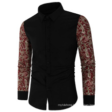 Spring Autumn Features Shirts Men Casual Long Sleeve Fit Shirts