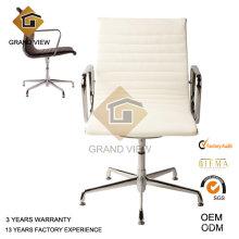 Cadeira de conferência escrita moderna couro branco (GV-EA108)