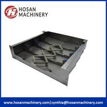 Custom Steel Plate Machine Bellows Covers