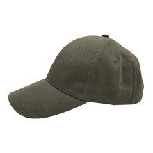 New style cotton fabric baseball cap 6 panel plain baseball cap