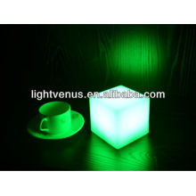 mini cubo conduzido com usb, 10 * 10 * 10cm mini cubo do diodo emissor de luz, mini cubo da tabela do diodo emissor de luz