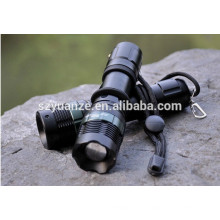 Rechargeable zoomable camping LED Outdoor Flashlight