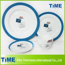 16PC кости Китай Набор посуды (004)