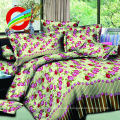 100% POLYESTER 3D BED SHEETS