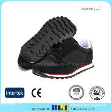 Zapatos atléticos al por mayor de los hombres con la suela de goma durable