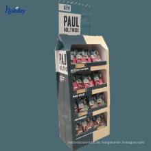 Handgefertigte Pop Endkappe Spielzeug Boden Vitrine