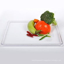 "Plastic Plate Disposable Tray 15""Rectangular Tray"
