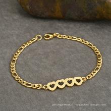 Cœur en métal Tanishq Bijoux 6 grammes Gram Gold Bracelet Chain Design