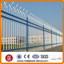 China PVC revestido tubo de aço cerca (ISO9001)